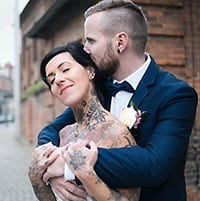 Hochzeitspaar Mirjam & Martin